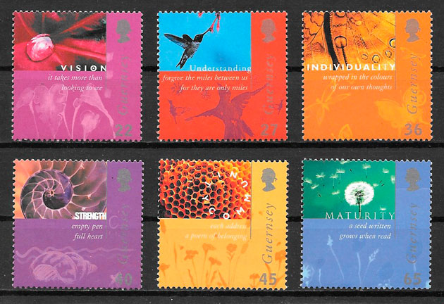 filatelia colección temas varios 2001