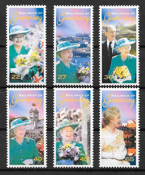 sellos personalidad Guersey 2002