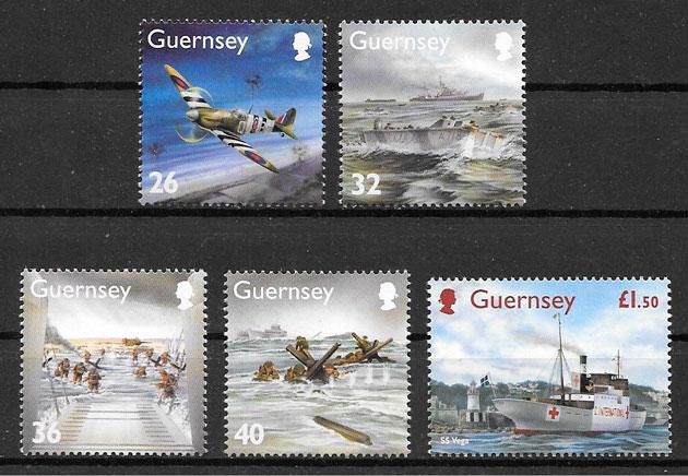 sellos transporte Guernsey 2004