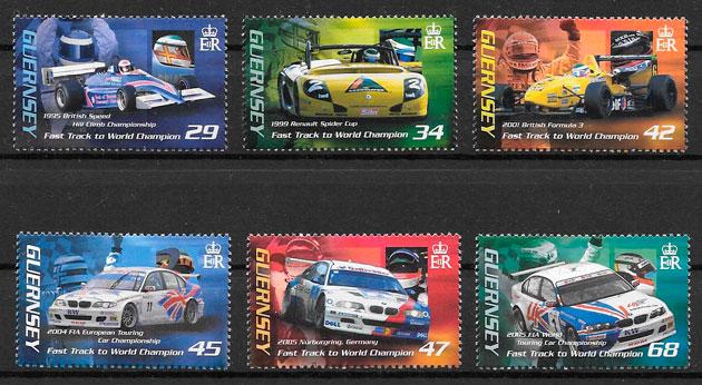 sellos deporte guersey 2006