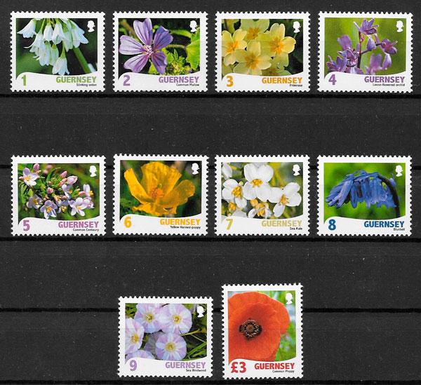 selos flora Guernsey 2009