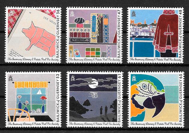 selos arte GUERNSEY 2010