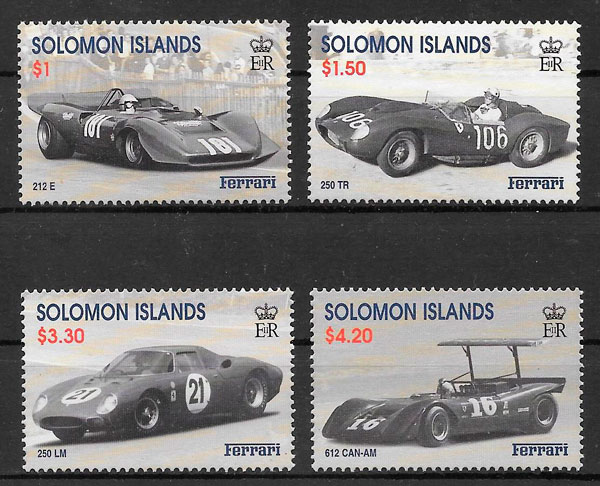 sellos deporte Salomons Islands 1999