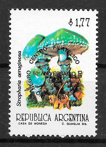 filatelia setas Argentina 1992