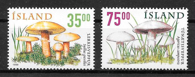 sellos setas Islandia 1999