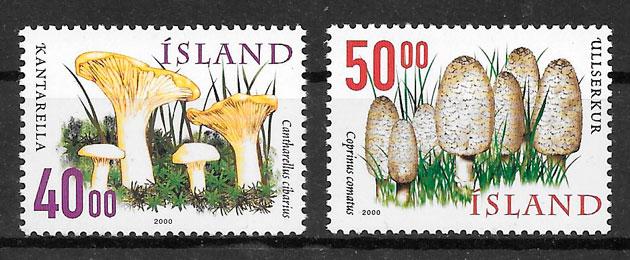 sellos setas Islandia 2000