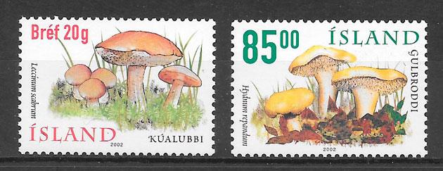sellos setas Islandia 2002