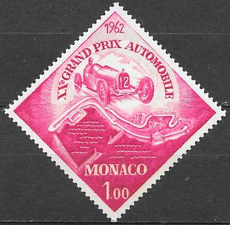 filatelia deporte Mónaco 1961