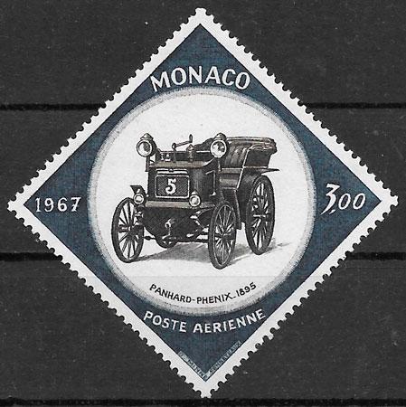 filatelia colección deporte Mónaco 1967