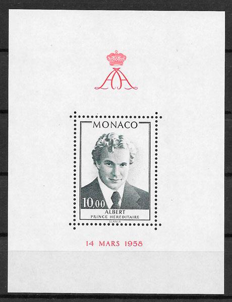 sellos personalidad Monaco 1979