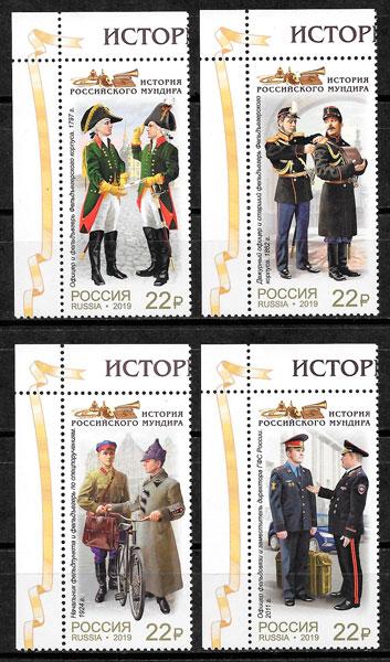 filatelia colección temas varios Rusia 2019