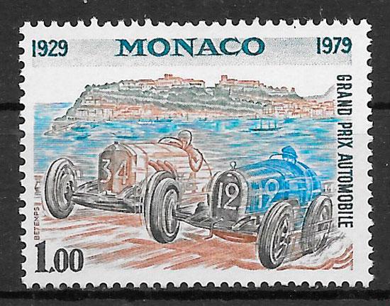 filatelia deporte Mónaco 1979