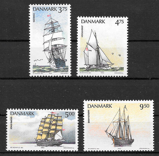 selos transporte Dinamarca 1993