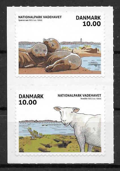 sellos fauna Dinamarca 2015