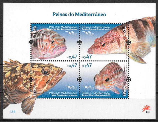 sellos fauna Portugal 2016