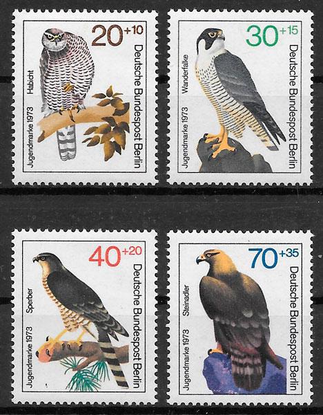 selos fauna Alemania Berlin 1973