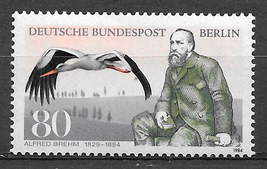 sellos fauna Berlín 1984