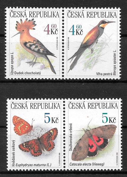 sellos fauna Chequia 1999