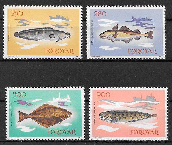 sellos fauna Feroe 1983