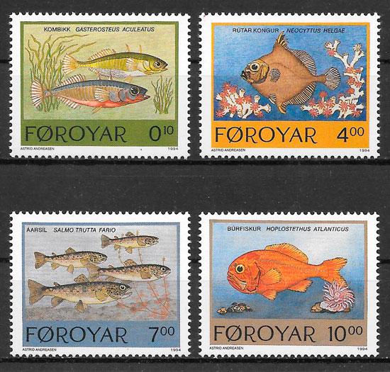 sellos fauna Feroe 1993