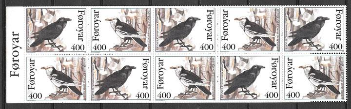 sellos fauna Feroe 1995