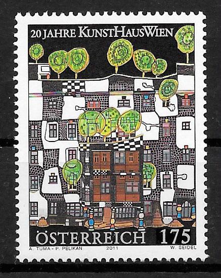 sellos arte Austria 2011
