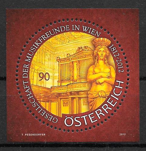 sellos arte Austria 2012