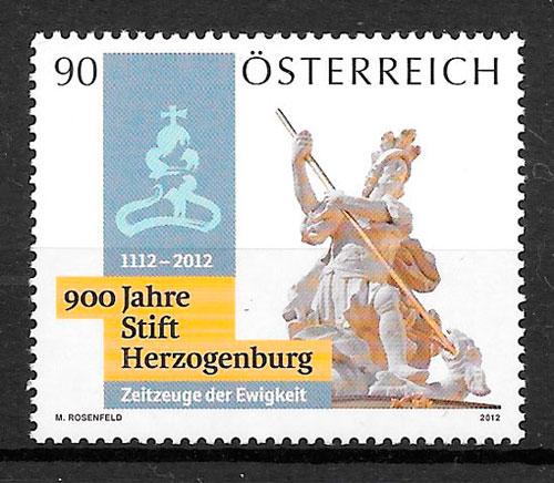 colección sellos Austria 2012 arte