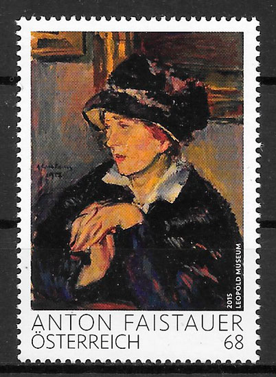 sellos pintura Austria 2015