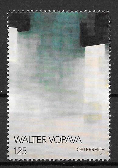 sellos pintura Austria 2017