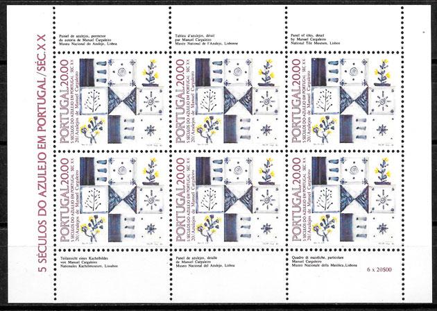 sellos arte Portugal 1985