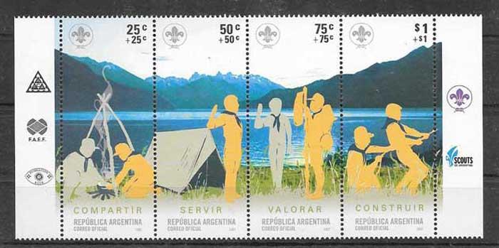 sellos Argentina escultimo 2007
