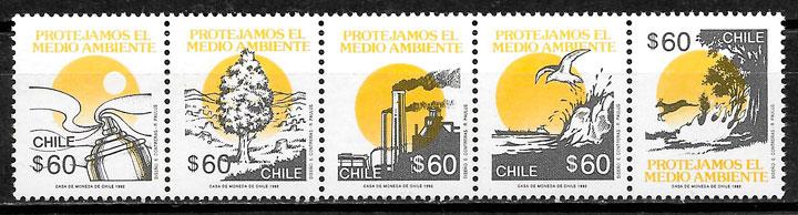 sellos protección del medio ambiente Chile 1992