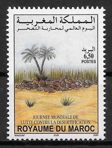 sellos medio ambiente Marruecos 2001