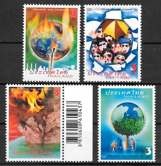 sellos medio ambiente Tailandia 2008