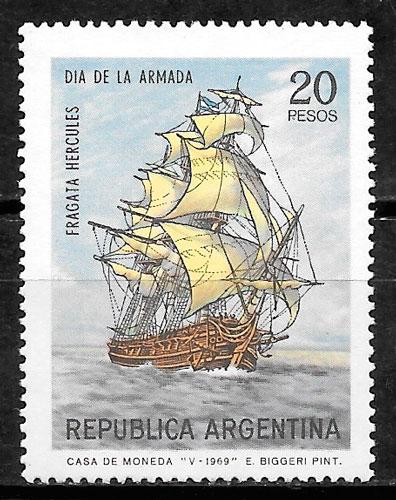 colección sellos transporte Argentina 1970