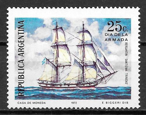 filatelia colección transporte Argentina 1972