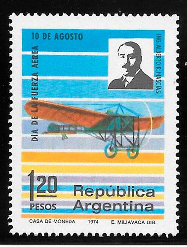 colección sellos transporte 1974
