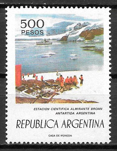 filatelia colección transporte Argentina 1976