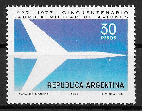 filatelia transporte Argentina 1977