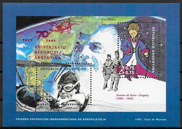 sellos transporte Argentina 1997