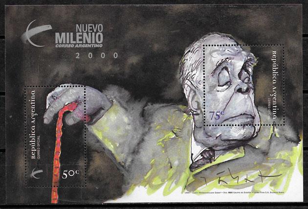 sellos arte Argentina 1999