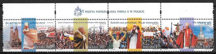 filatelia personalidad Polonia 1999