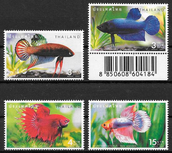 sello fauna Tailandia 2002