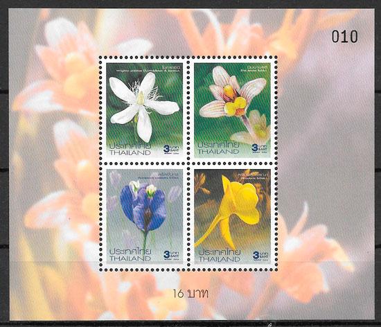 selos flora Tailandia 2004