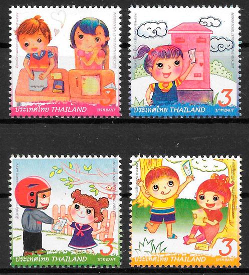 sellos arteTailandia 2011