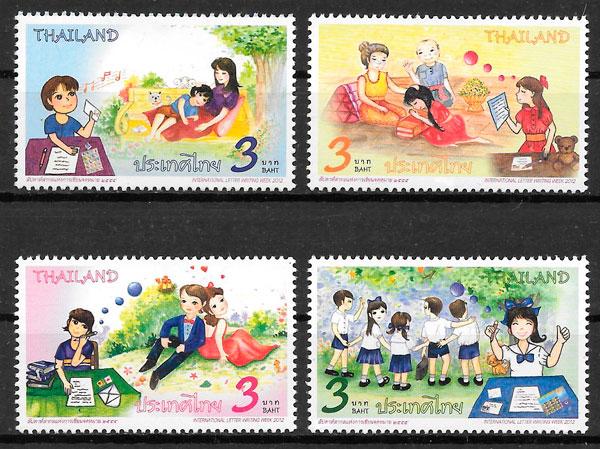 sellos arte Tailandia 2012