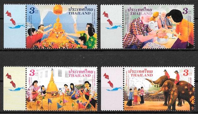 sellos arte Tailandia 2015