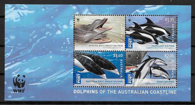 FILATELIA COLECCIÓN FAUNA AUSTRALIA 2009