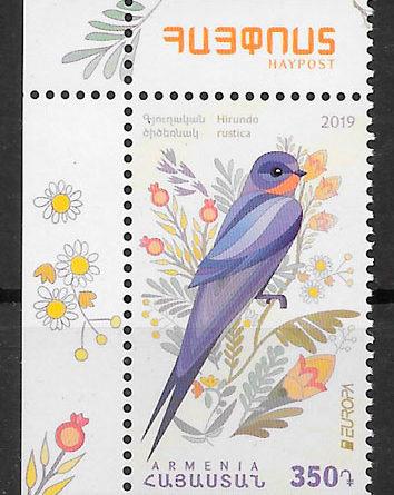 sellos Europa Armenia 2019